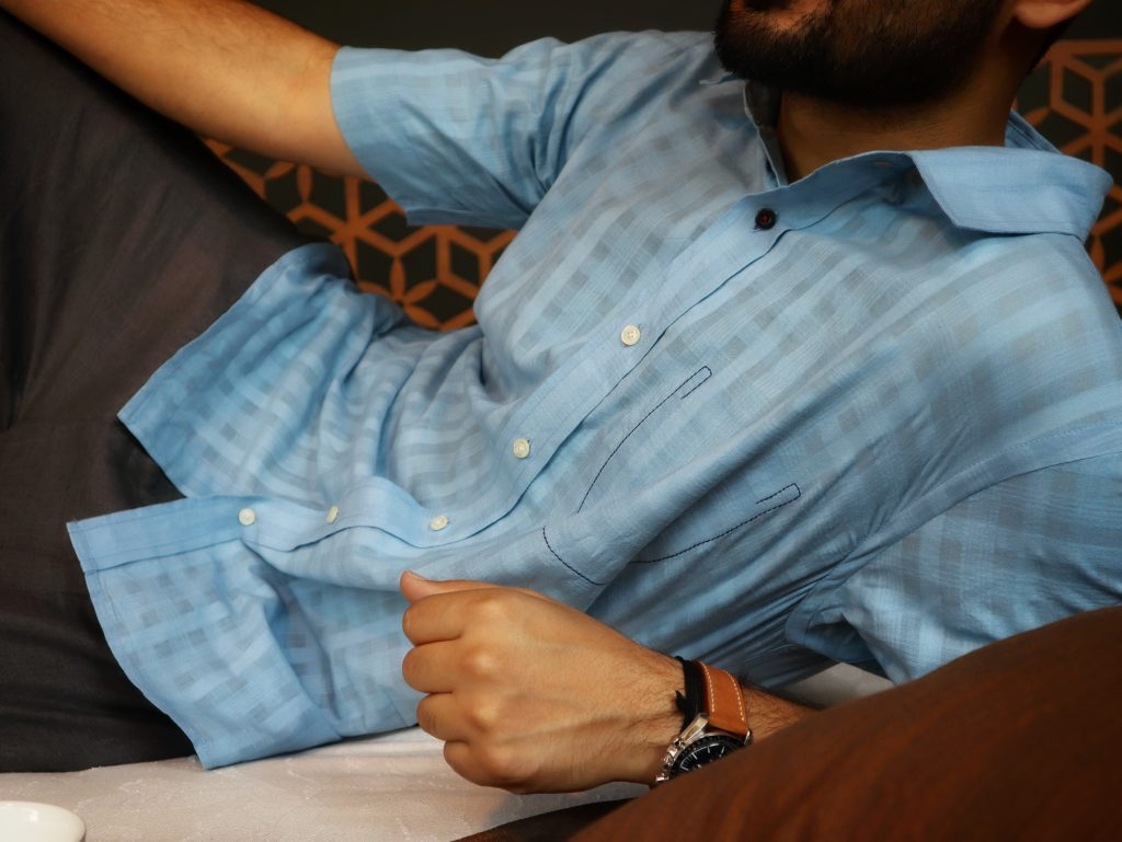Kardo shirts for men - Indian designer menswear brand - Handloom Handwoven Handmade Shirts - Niche Exclusive Casual Men's Shirts That are fashionable and stylish